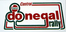 Castrol Donegal Rally / Motorsport Sticker Decal (Red/Green)