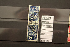 FRANCOBOLLI STAMPS EGEO USATI (F61921)