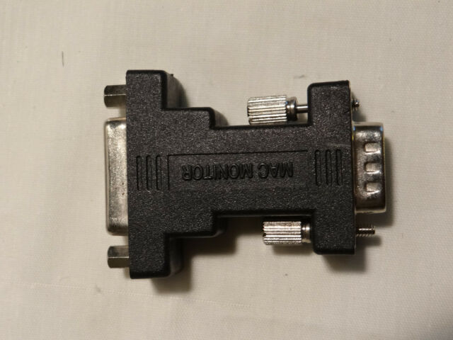 Apple Macintosh PC Monitor Adapter DB15 to HD15 VGA Monitor F//M G3 G4 Video