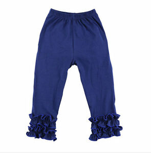 Girl Ruffle Icing Pants Icings Skinny Ruffle Boutique Layering 2T 3 4 5 6