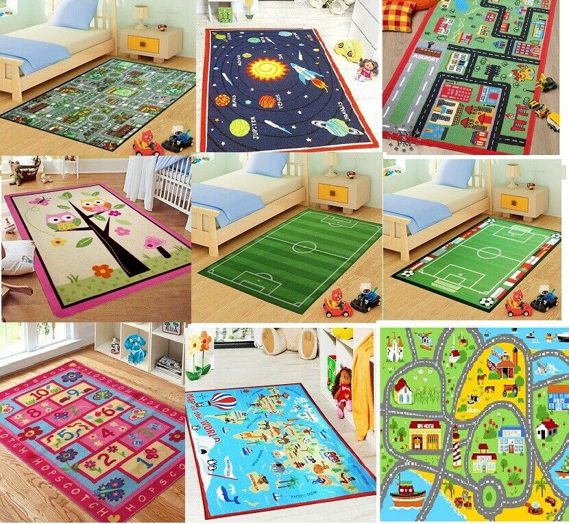 Disney Cars Rug Kids Bedroom Boys Rugs
