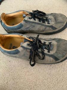 Ahnu-Men-039-s-Brown-Hiking-Shoes-10-Gently-Used