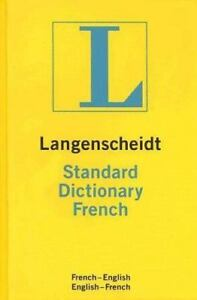 Langenscheidt-Standard-French-Dictionary-Lang-9781585735013-by-Urwin-Kenneth