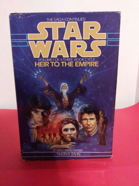 Star Wars: Heir to the Empire by Timothy Zahn (1991, Hardcover)