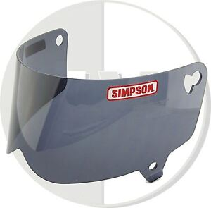Simpson-Casco-Negro-Visera-para-Outlaw-Moto-M-L-Tamano-B