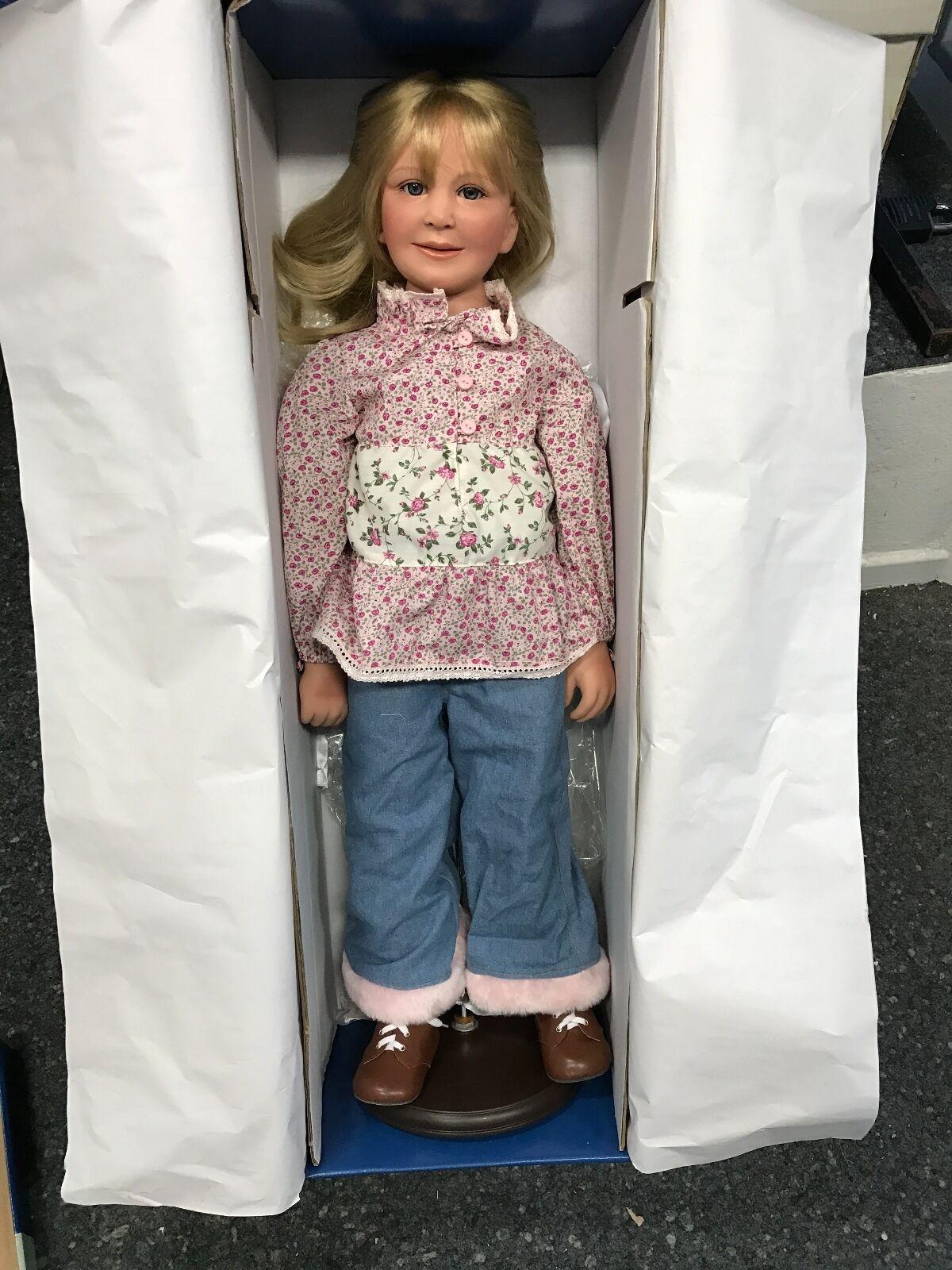 Artista Bambola vinile bambola 80 CM. OTTIMO stato