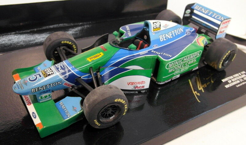 Minichamps 1 18 scale diecast 510 941825 benetton ford B194 schumacher german gp