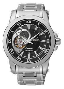 Seiko SSA215J1 SSA215 Mens Premier Automatic Watch WR100m NEW RRP $995.00