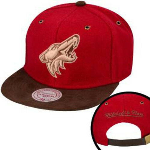 Pheonix Coyotes Winter Suede Strapback Sent Sameday* Mitchell And Ness