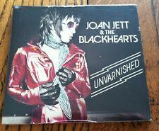 Joan Jett & The Blackhearts Unvarnished CD 2013 Best Buy Edition 4 Bonus Tracks