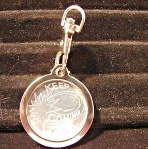 Image is loading Alcoholics-Anonymous-AA-NA-Keychain-metal-medallion-holder- b45b2ed5c770