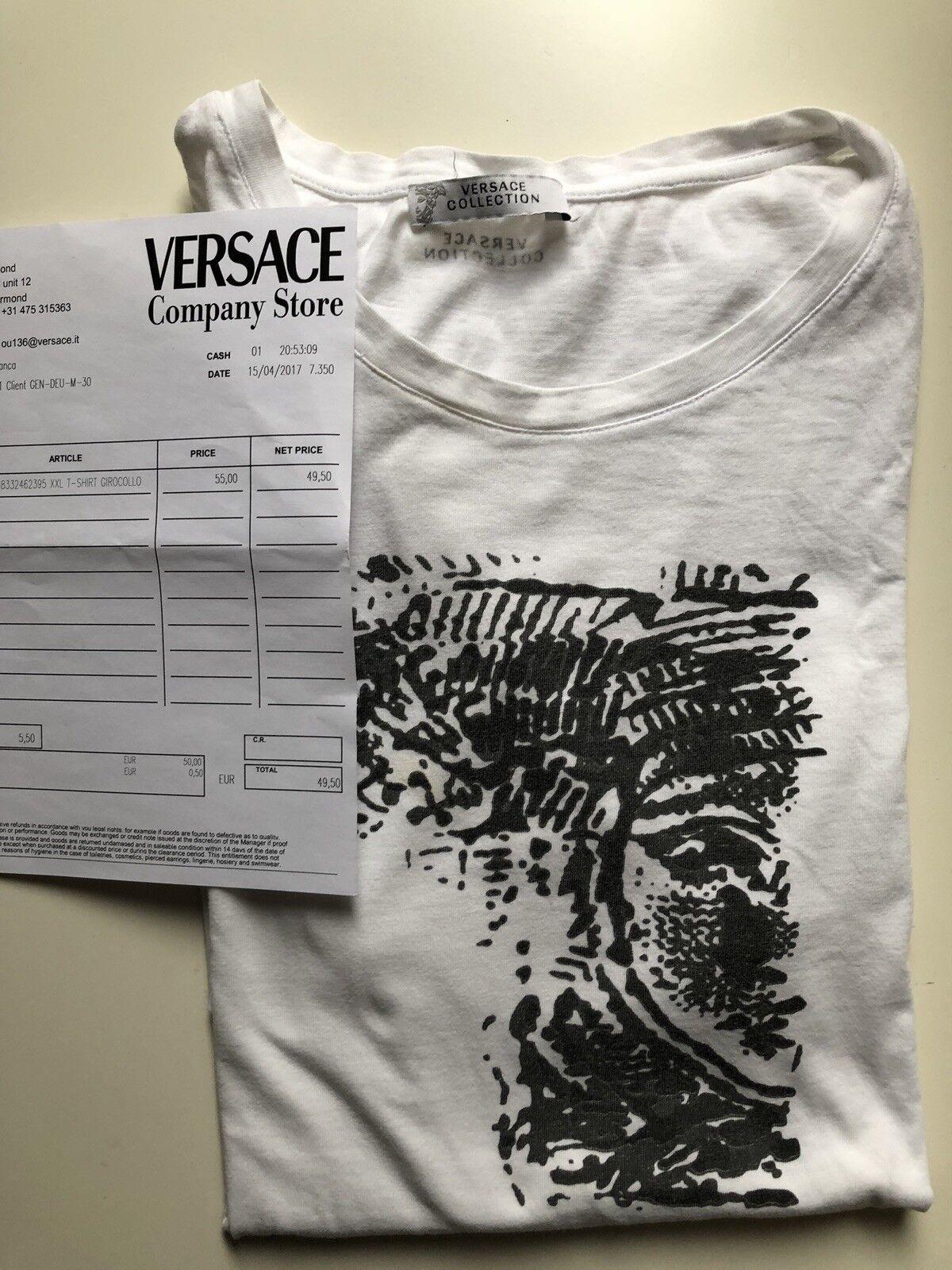 Versace Girocollo T Shirt Medusa Größe XL Original mit Rechnung