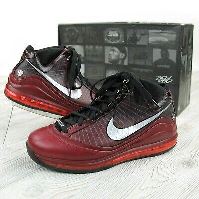 Christmas Sneakers.Nike Air Max Lebron Vii 7 Christmas Sneakers Mens Sz 10 375664 600 All Star Mvp 884802980773 Ebay
