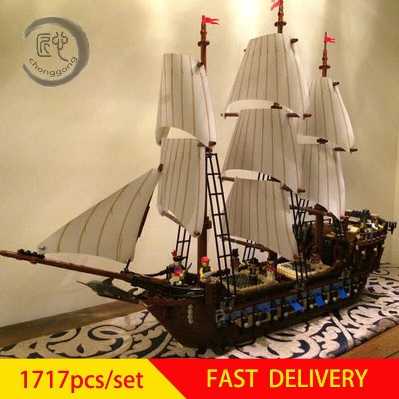 Imperial Flagship Caribbean Pirates 10210 Building Blocks New Brick DHL Shipping