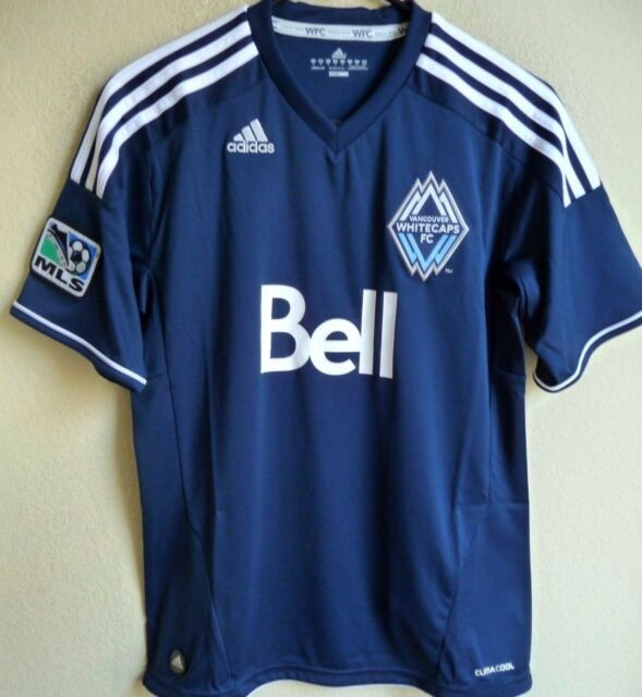 check out c6f34 2d590 Women's MLS adidas Vancouver Whitecaps F.c. Soccer Jersey M P10025