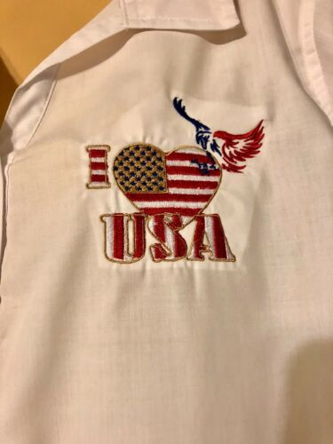 Details about  /American Flag,4th fo July Memorial Day Made USA Free Shipping Patriotic Shirts