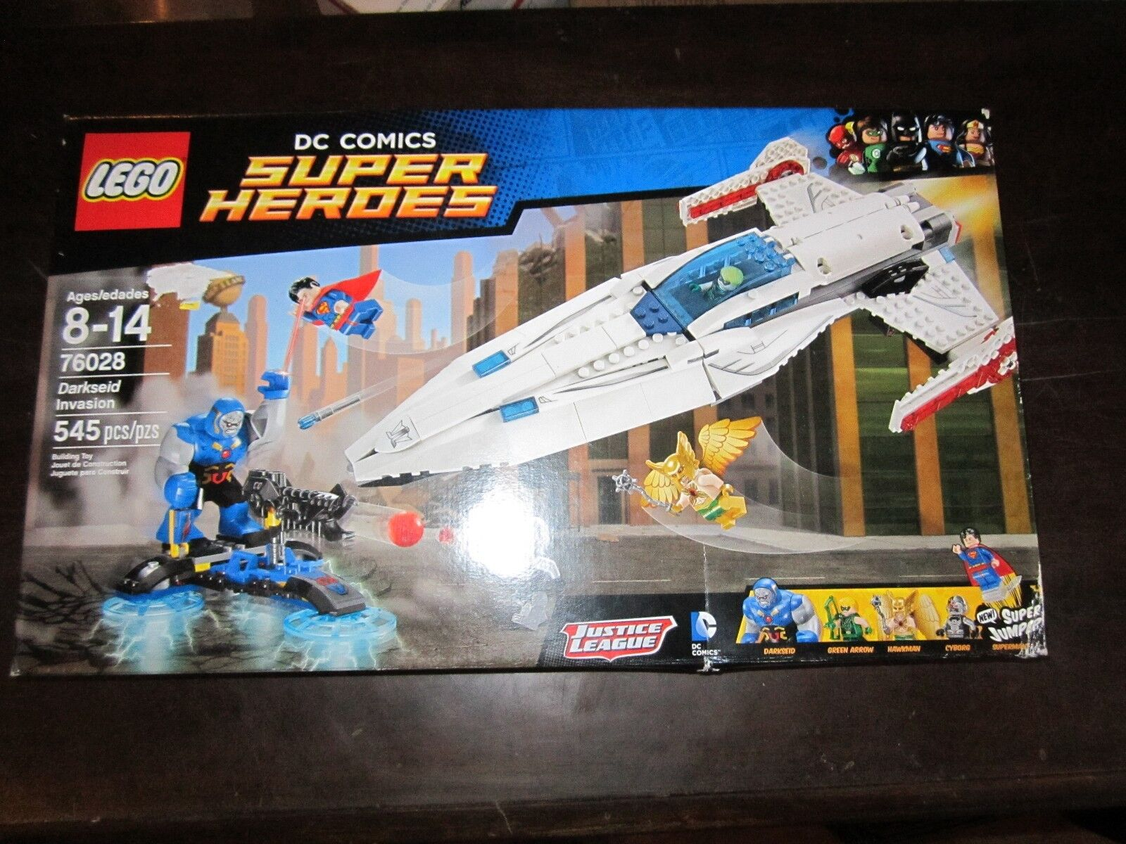 NEW LEGO 76028 Darkseid Invasion  DC Comics Super Heroes Justice League Set Look