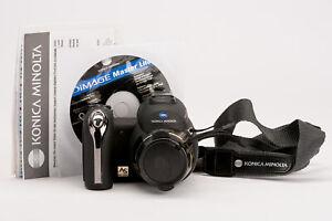 Konica-Minolta-Dimage-z6-fotocamera-Digitale-Bridge-Videocamera-Nero-OVP
