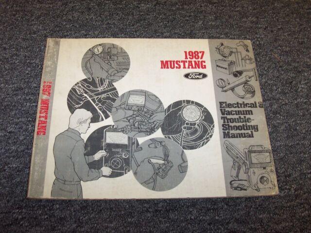 1987 Ford Mustang Electrical Wiring  U0026 Vacuum Diagram