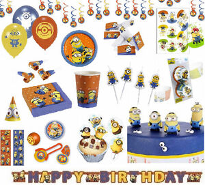 minion minions party geburtstag kindergeburtstag ballons tortendeko oblate ebay. Black Bedroom Furniture Sets. Home Design Ideas
