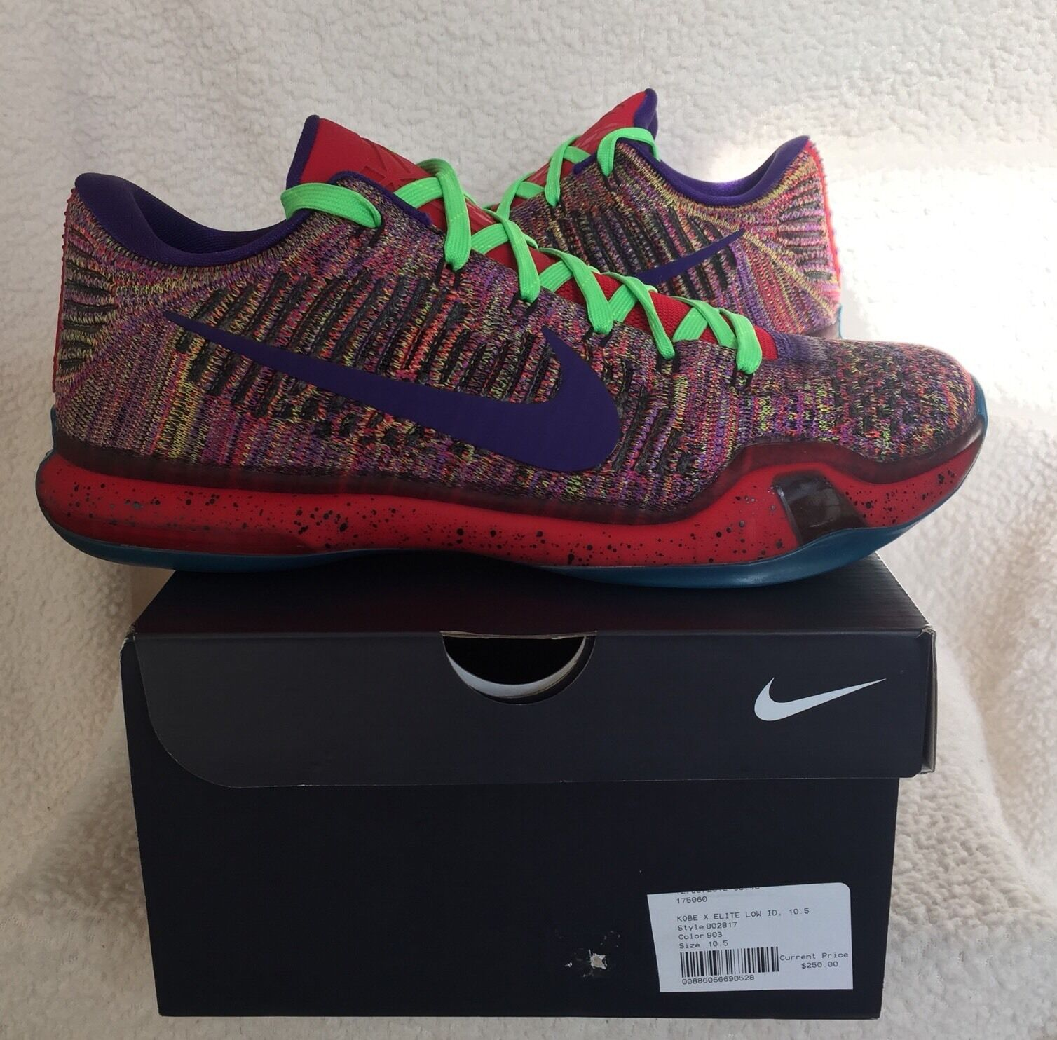 NEW NIKE ID KOBE X ELITE LOW