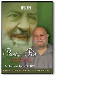 Details about PADRE PIO: PRIEST WHO BORE THE WOUNDS W/FR  APOSTOLI * AN  EWTN DVD