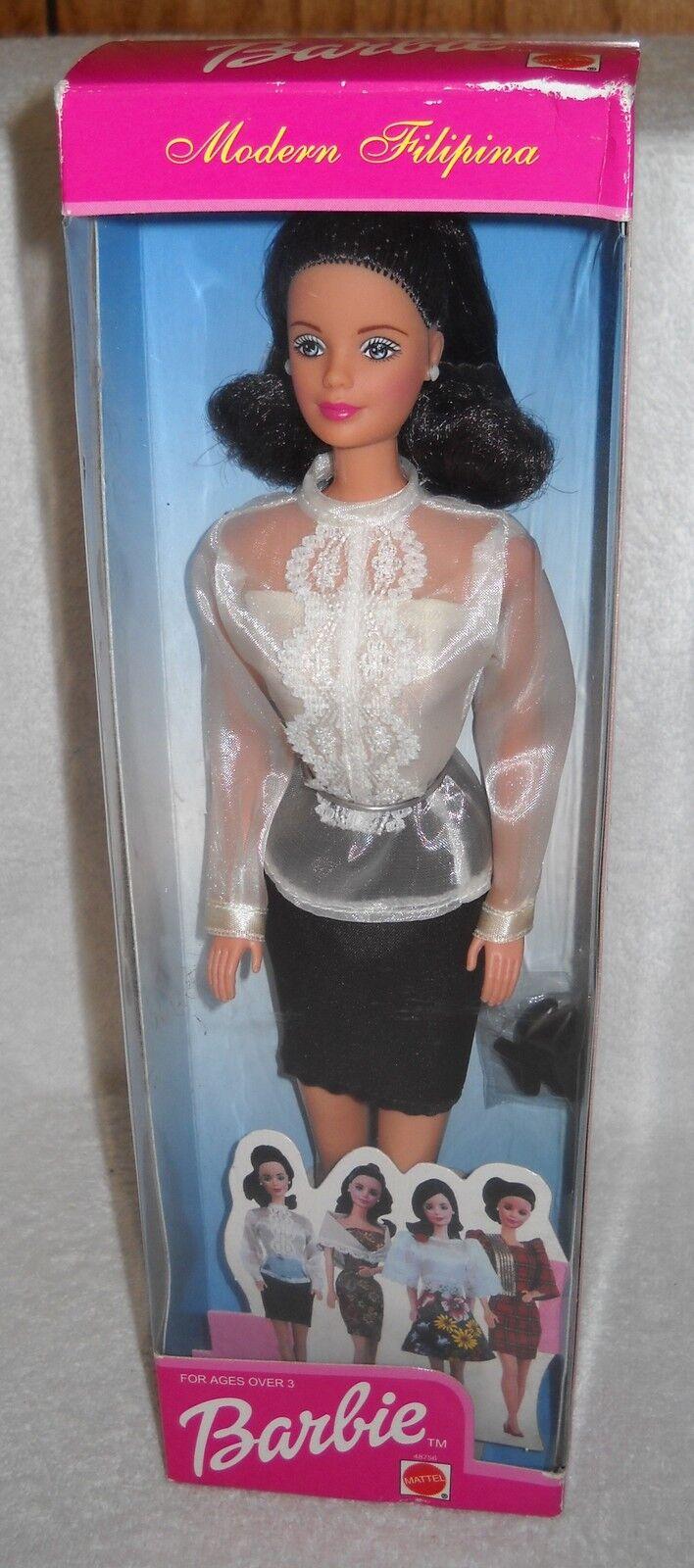 Nrfb Mattel Filipinas Moderno filipina Barbie Exterior