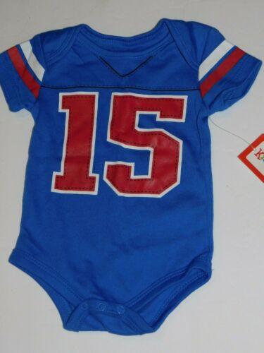 Infant Boy 0 3 Month Sports Jersey Football One Piece Clothes Newborn