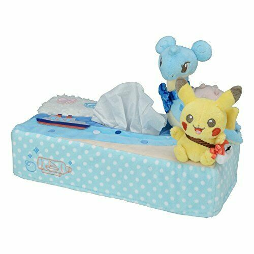 Riding on Pokemon Center Original tissue box cover Lap From japan