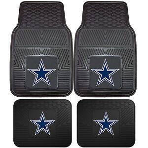 NFL-Dallas-Cowboys-Car-Truck-Rubber-Vinyl-Heavy-Duty-All-Weather-Floor-Mats