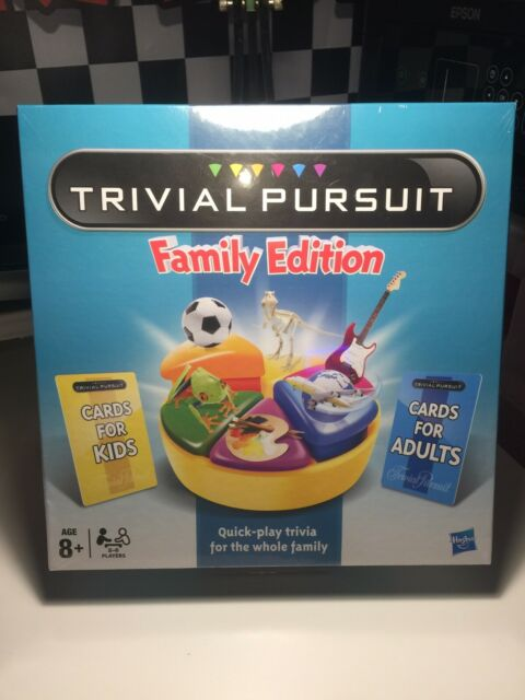 Brand New Sealed hasbro Gaming trivial pursuit family edition 2011 New Sealed
