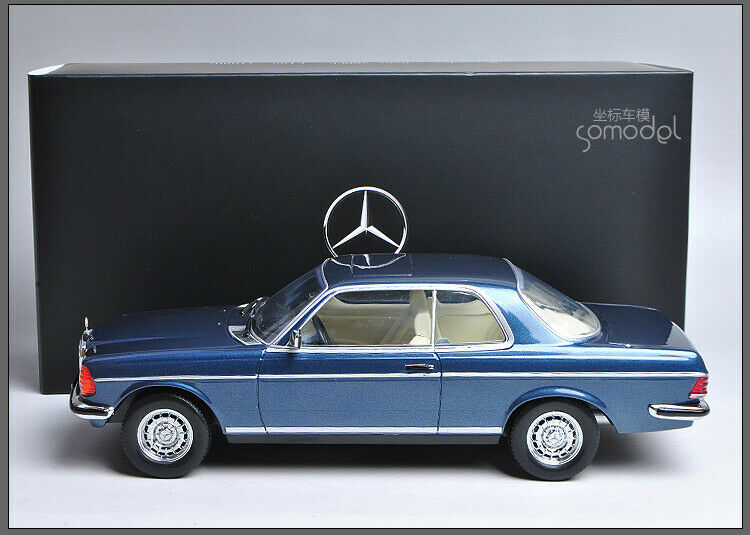 Mercedes-Benz 280 CE W123 1980 bluee 1 18 Dieccast Model