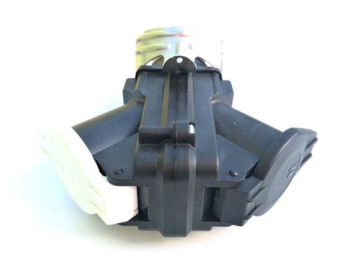 LKW Adapter Kurzadapter  24V 15-polig und 2x 7-polige Steckdose Stecker