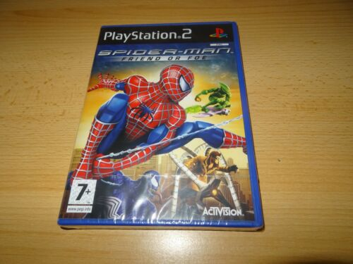 1 of 1 - Spider Man Friend or Foe PS2 -  NEW FACTORY SEALED - pal version