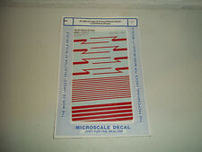 Microscale decals HO 87-213 Chicago RTA F-40-PH     H89