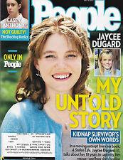 Jaycee Dugard, Casey Anthony, Michael Vartan - July 18, 2011 People Magazine