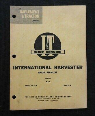 IT Shop Farmall B Tractor Service Manual Tractors Patio, Lawn ...