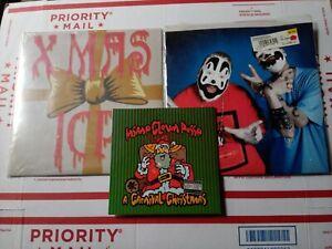 Insane Clown posse Xmas Vinyl Lot Carnival Christmas Leck Mich Twiztid