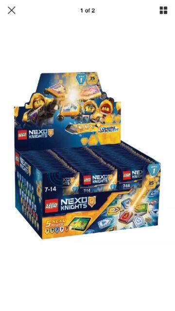 70372 LEGO Nexo Knights Combo NEXO Powers Wave 1 Blind Bag Age 7-14