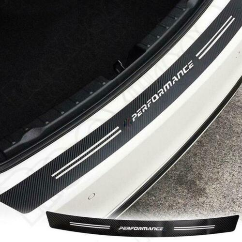 Carbon Fiber Painted Vinyl Rear Bumper Guard Sill Sticker for BMW 1 3 4 5 M3 M4