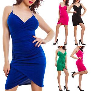 Caricamento dell immagine in corso Vestito-donna-miniabito-tubino -portafogli-spalline-gioiello-sexy- 357e9a48308