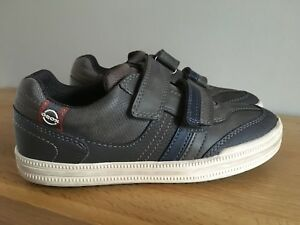 separation shoes 3672b 06a50 Details about Boys Geox Elvis Trainers Lo Top Sneakers Size EU 34 / UK 2.5  NEW