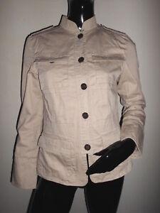 T Ebay Veste Safari 4 Superbe Beige Femme Boutonnee Type Zara Poches m PnnqzUd