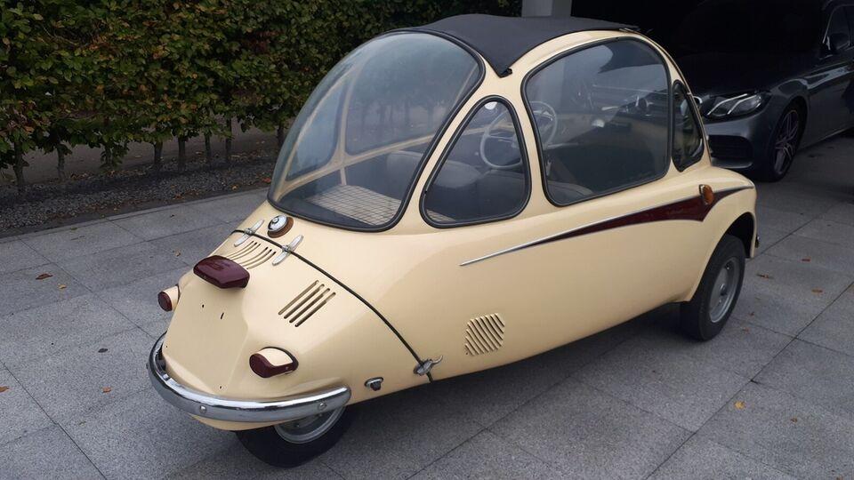 Heinkel Trojan 1,0 604 Benzin modelår 1962