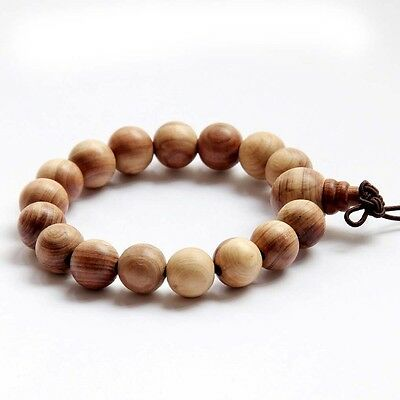Wood Beads Tibet Buddhist Prayer Bracelet Mala---12mm