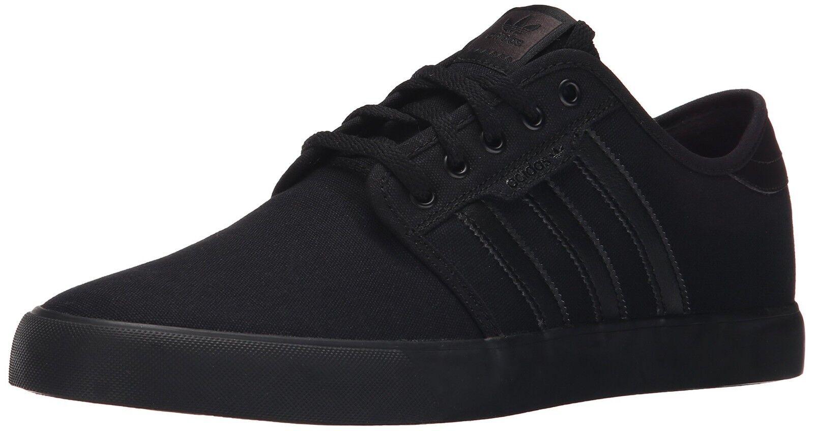 Adidas scarpe seeley nero tela Uomo scarpe Adidas nuove in scatola 925d35