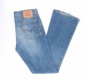 Levi-039-s-Levis-Jeans-529-W32-L34-blau-stonewashed-32-34-Bootcut-B3526