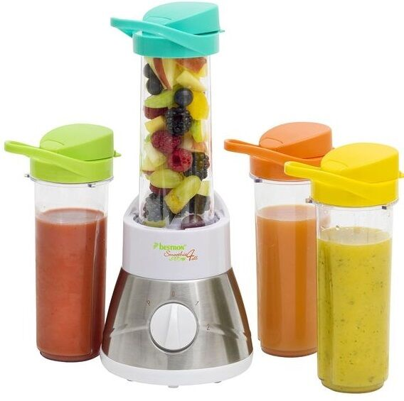 Bestron Family Smoothie Maker AFM400 Mixer Smoothiemaker Predein Maker Shaker
