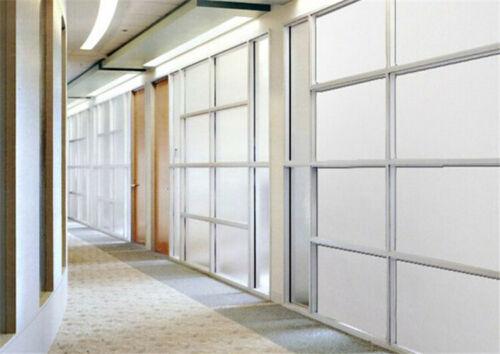 Adhäsionsfolie Büro 100cm x 122cm selbsthaftende Statische Sichtschutzfolie