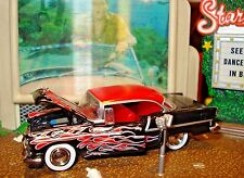 1955 CHEVROLET BEL AIR 2 DR HARDTOP LIMITED EDITION 1/64 M2 1960'S STYLE CUSTOM